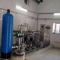 Stainless Steel Reverse Osmosis EDI System, For Water Purification, RO Capacity: 2500 LPH