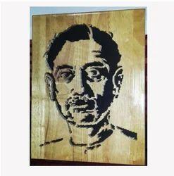 Munshe Premchand Wooden Carvings