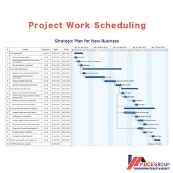 Project Planning Scheduling Services