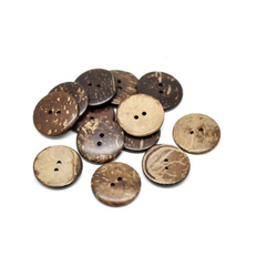 Wood and Coconut Buttons