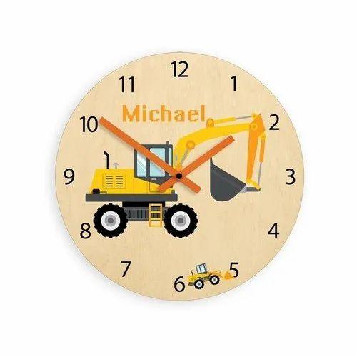 Kids Room Wall Clock