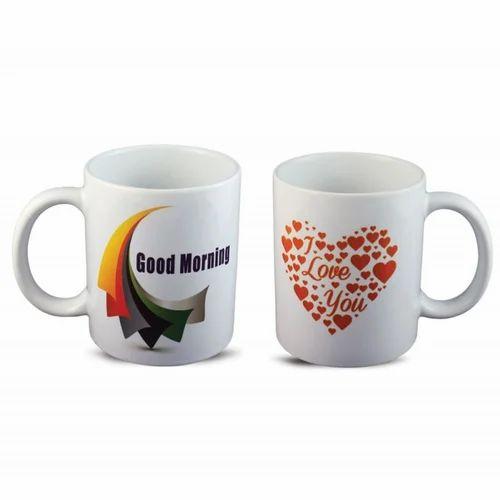 e899c971884 Multicolor Printed Good Morning And I Love You Coffee Mug, Rs 189 ...