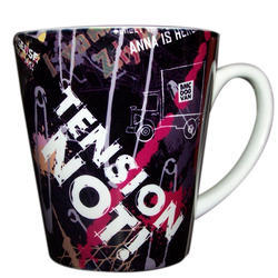 Designer Printed Conical Coffee Mug