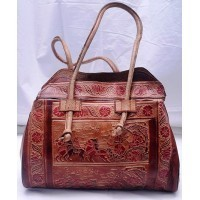 Santiniketan Leather Bag
