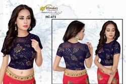 Multicolor Inmpoted Designer Stretchable PartyWear Blouse