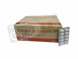 Decimet ( Cimetidine Tablets Bp. 400mg)