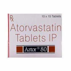 Atorvastatin (80mg) Aztor 80 Tablet