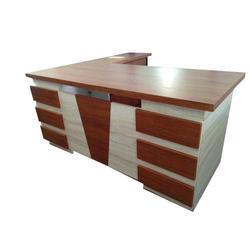L Shaped Office Reception Table