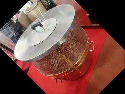 Round Copper tandoor, Capacity: Bulk Cooking