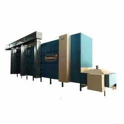 Automatic 50-60 Hz Fryums Dryer, 415 V, Capacity: 10-500 Kg Per Hour