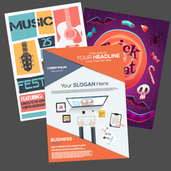 Paper Digital Poster Printing