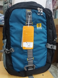 Black,Blue Polyester Tracking Bag