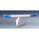 Triangle Magnetic Pen Stand With Highlighter