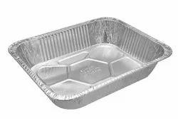 Paramount Half Deep (3500 Ml) Disposable Aluminium Foil Food Container