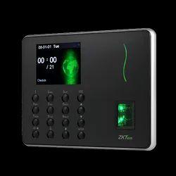ZK Techo WL-10 Fingerprint Time & Attendance Terminal with Wi-Fi module.