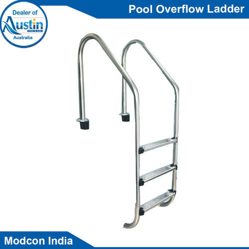 Swimming Pool Ladder for Overflow Pool