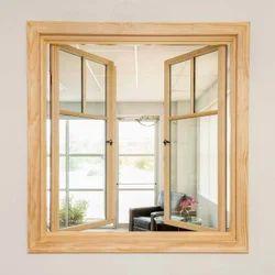 Modern Wooden Casement Window