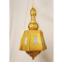 Led , Incandascent Brass Hanging Lamp