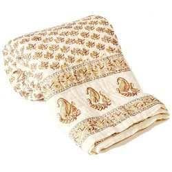 Jaipuri Cotton Single Bed Quilt 323