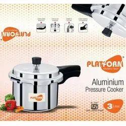 3 Litre Platform Aluminium Pressure Cooker