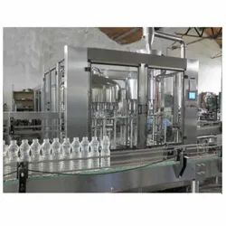 Electric Mineral Water Bottling Plant