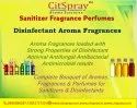 Senitizer and disinfectants fragrance
