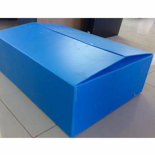Plastic Corrugated Boxes Pp Box Making Sheet