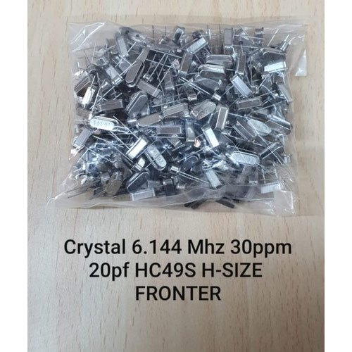 10 pieces CRYSTAL 3.6864MHZ SERIES THRU