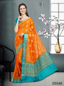 Silk Banarasi Sarees, With Blouse Piece