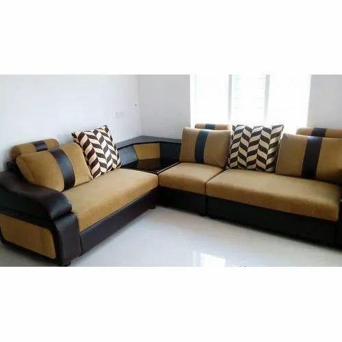 Corner L Shape Sofa Set, L Shape Sofa Set