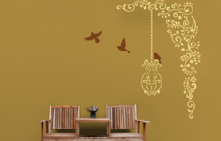 Asian Paints Flight Of Freedom Nature Inspired Stencils
