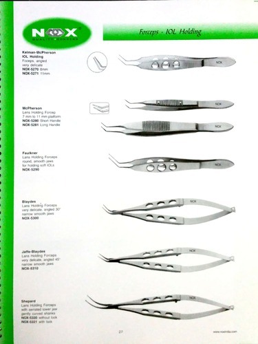 Stainless Steel Ophthalmic Micro Instruments, For Hospital