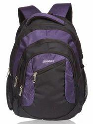 Black & Purple Moon Laptop Backpack