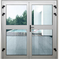 Aluminium Section Work - Aluminium Door Section Work Service