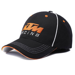 KTM Racing Black-Orange KTM Bike Racing Baseball Cap Black  N  Orange da15606b24c