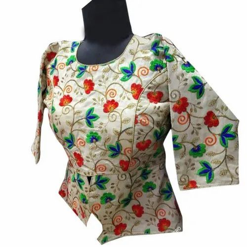 Silk Floral Embroidered Designer Blouse Size M Xxl Rs 550 Piece Id 21305628633,Minecraft Vending Machine Design