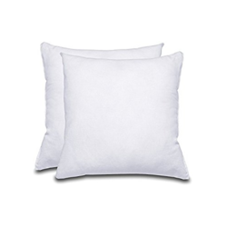White Plain cushions