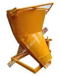 Hindustan Concrete Banana Bucket with screw jack