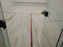 Wooden Squash Court Flooring