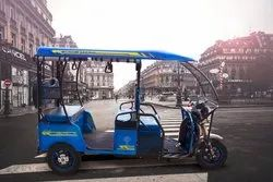 Deltic 4 Seater Battery Operated E Rickshaw, Battery Charging Time: 5-6 hours