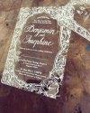 Clear Acrylic Invite