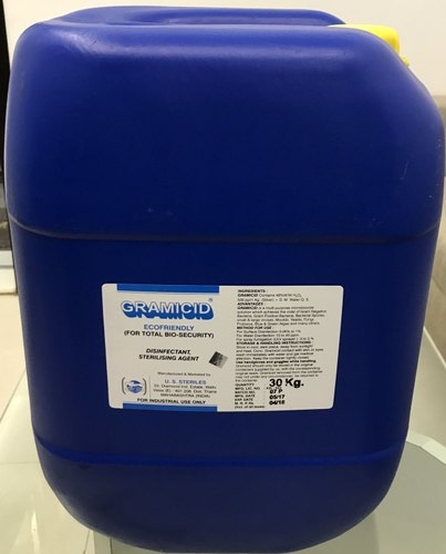 Disinfectant Chemicals-Gramicid Hydrogen Peroxide & Silver Disinfectant