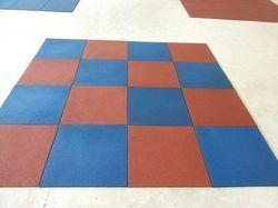 Rubber Square Tiles