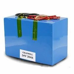 24 Volt 20Ah Electric Vehicle Lithium ion Battery