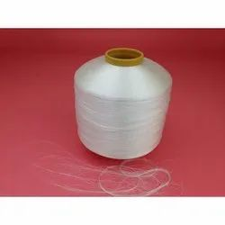 White Bright Polyester Twisted Yarn for Knitting