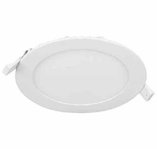 Cool White 3W Round LED Panel Light, 220 V