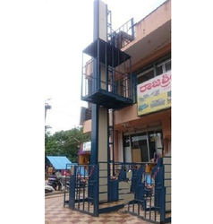 Self Supported Structure Goods Lift