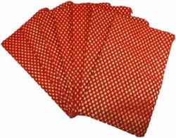 Pack of 7 Pieces Bridal Gifting Suhag Pitara Bag Return Gifting Pouch Pouch (Red)