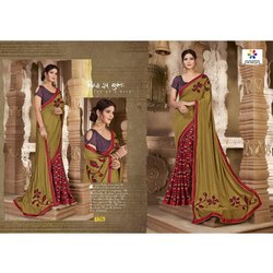 Rachna Art Silk Digital Printed Imprint Catalog Saree For Women 6