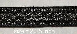 Black Flower Lace
